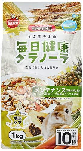 ミニマルランド うさぎの主食 毎日健康グラノーラ メンテナンス 1kg