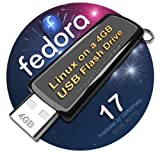 Fedora 17 on 8gb USB Stick Flash Drive, plus CD and Quick-Reference Guide