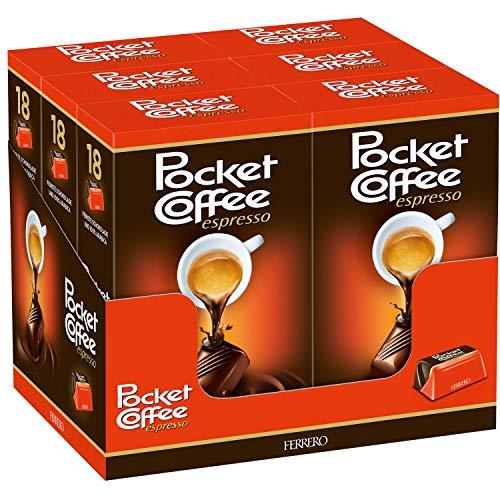 Ferrero Pocket Coffee (6 confezioni da 225 g)