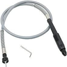 con eje flexible giratorio Molinillo de motor de fresado con revestimiento de resorte para colgar n/úcleo interior de 97 cm