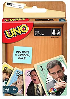 Mattel UNO The Office Card Game with 112 Cards & Instructions Gift for Kid Adult or Family Game Night Ages 7 Years & Older
