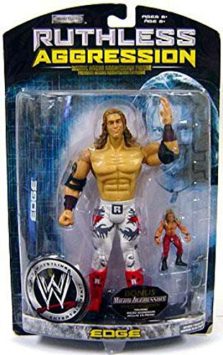 WWE Wrestling Ruthless Aggression Series 29 Edge Action Figure [With Micro Aggression Figure] (Jakks Pacific)