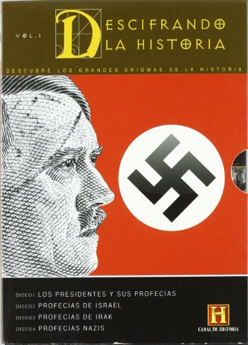 Decoding the Past Collection (Vol. 1) - 4-DVD Box Set ( Presidential Prophecies / Prophecies of Israel / Prophecies of Iraq / Nazi Prophecies ) [ Spanische Import ]