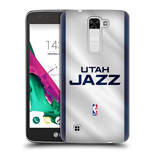 Head Case Designs Oficial NBA Jersey Utah Jazz Carcasa rígida Compatible con LG K7 K330 / Tribute 5