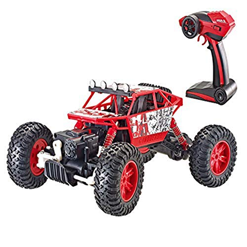 XJ0526 RC Car 1/12 Ratio 2.4G Electric Four-Wheel Drive Remote Control Car Strong RC Mountain Bike Off-Road Vehicle - Best Gift for Kids & Adults