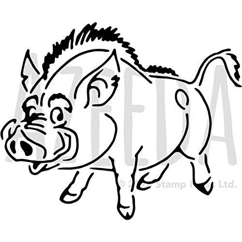 Azeeda A4 'Wildschwein' Wandschablone / Vorlage (WS00014488)