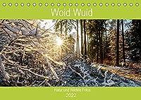 Woid Wuid - Natur und Wildlifefotos (Tischkalender 2022 DIN A5 quer): Bilder aus der Flora und Fauna des bayerischen Waldes (Geburtstagskalender, 14 Seiten )