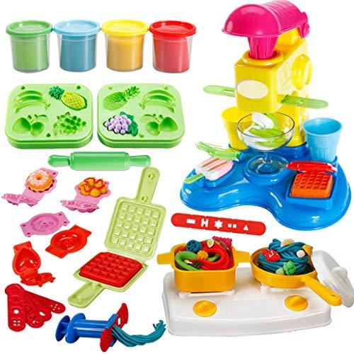 Modelliermasse-flaumiger Schleim, DIY weiches magisches Lehm-Handwerks-luftgetrocknete Plastilin-Kind-pädagogische Spielwaren und DIY-Geschenke