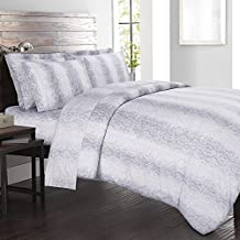Kalahari Cal King Sheet Set Grey