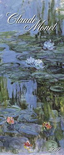 Claude Monet 2017: Kunst Vertikal Kalender