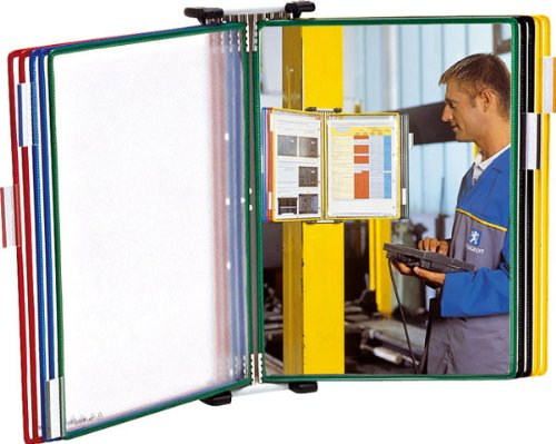 Tarifold 464109 - Clasificador de pared con 10 fundas, A4