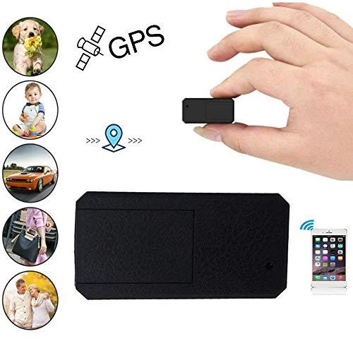 Hangang Mini GPS Tracker Portatile Anti Thief Mini in Tempo Reale Anti Loss Localizzatore GPS per Bambini Wallet Bags Documenti Importanti Lost Viewfinder con App Gratuita per iOS e Android TK901