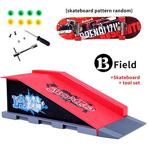 Piezas De La Rampa Del Kit De Skate Park Para Tech Deck Vivianu Fingerboard Mini Finger