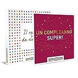 SMARTBOX - Cofanetto regalo di compleanno - idee regalo originale - 2 giorni a scelta tra cene, trattamenti benessere o attività sportive