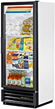 True GDM-12 White Glass Door 12 Cu Ft Refrigerator Merchandiser