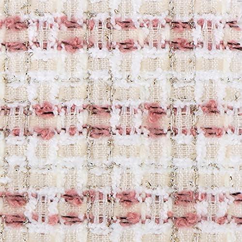 Metallic Super intense In stock SALE Tweed Fabric by The XV2104007-02 1 Yard