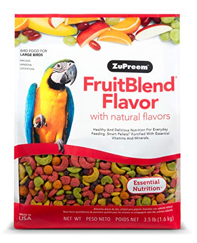 ZuPreem Obstmischung, Diät für große Vögel, 1,6 kg