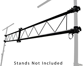 Pro Audio DJ Light Lighting Portable Truss 10 Foot I Beam Section - Add to Speaker stands or Extension
