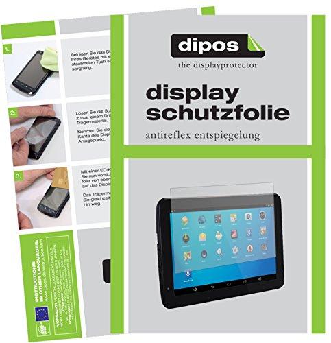 dipos I 2X Schutzfolie matt kompatibel mit Jay tech XE10 Folie Displayschutzfolie