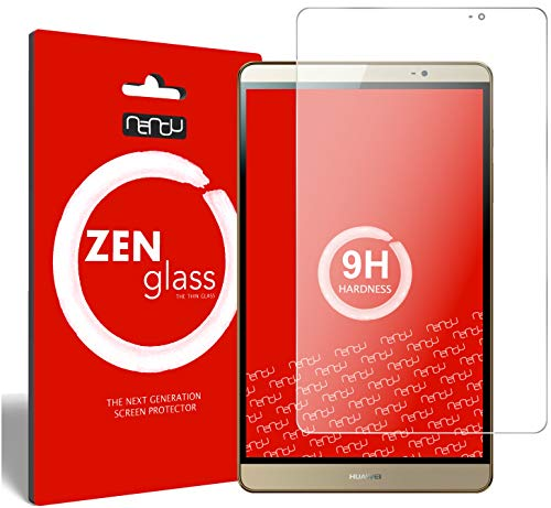 ZenGlass Flexible Glas-Folie kompatibel mit Huawei Mediapad M2 8.0 Panzerfolie I Bildschirm-Schutzfolie 9H