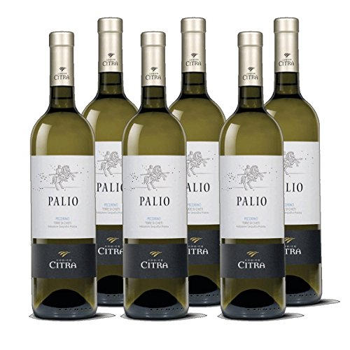 Pecorino Terre di Chieti IGT - Palio Weißwein Italien 2018 trocken (6x 0.75 l)
