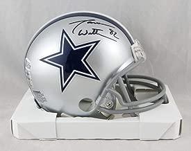Jason Witten Autographed Dallas Cowboys Mini Helmet - Beckett Auth Black