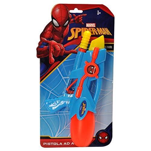 Ciao- Pistola Acqua, Colore Spider-Man, E7047