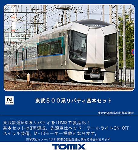 TOMIX Nゲージ 東武500系リバティ 基本セット 3両 98427 鉄道模型 電車