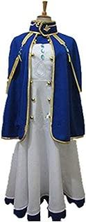 Anime Akagami No Shirayukihime Shirayuki Cosplay Costume Party Uniform with Cloak