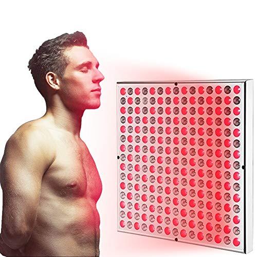 EFGSbed Rote Light Rotlichtlampe, Beauty-Lampe, Infrarottherapie, 45W lindert Gelenkschmerzen, Rot LED, Hellrot 660 nm und 850 nm von Hautproblemen und Schmerzlinderung