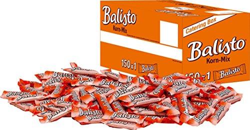 Balisto Schokoriegel | Korn-Mix, orange | 150 Riegel in einer Box (150 x 18,5 g = 1 x 2,775 kg)