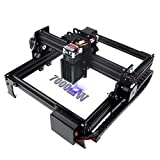 7000mW Macchina per intaglio CNC, incisore laser intagliatore con area di lavoro 20X29CM Super facile da installare e utilizzare per i principianti a intagliare e tagliare la plastica in legno (7W)