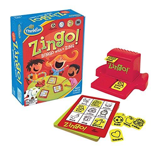 ThinkFun Zingo Time-Telling Board Game - Fun Bingo Style Game for Kids Age 4 and Up