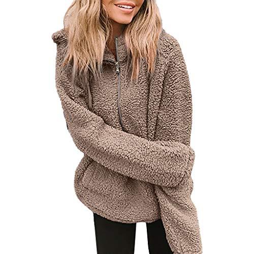 MINIKIMI pluche jack met capuchon dames winter elegant faux voor jack cardigan nepbont hoodie goedkoop winterjas parka outwear