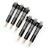 Koauto 6pcs 50hp New Fuel Injectors Set 3919350 Compatible with First Gen Dodge Cummins 5.9L...