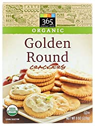 365 Everyday Value, Organic Golden Round Crackers, 8 oz