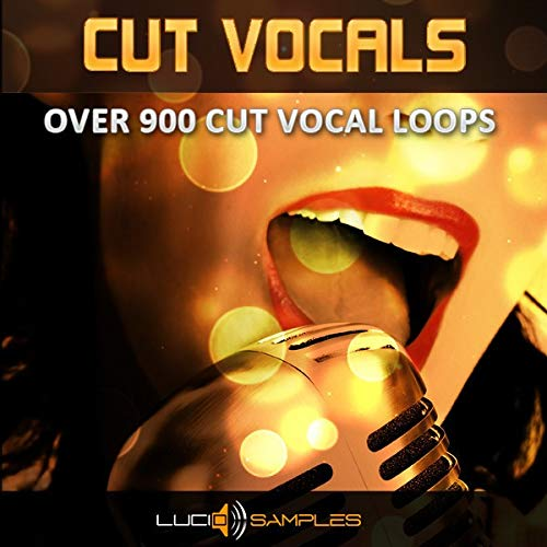 Cut-Vocals Party - Dj Vocal Loops for Techno & Dance | Apple Loops/ AIFF | DVD non Box