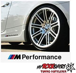 myrockshirt Because Kompatibel f/ür BMW Windschutzscheibe 50 cm Aufkleber