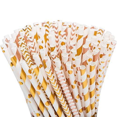 (80% OFF) 50pcs Premium Biodegradable Paper Straws $3.20 – Coupon Code