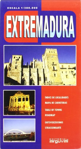 Mapa de Extremadura (MAPAS DE CARRETERAS)