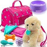 Play22 Juego de 9 muñecas de peluche para cachorros, accesorios para muñecas de bebé,...