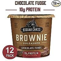 コディアック Kodiak プロテイン ブラウニー ミックス 【12個】チョコレートファッジ味 Chocolate Fudge Brownie【並行輸入品】
