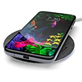 Encased Fast Charge Wireless Charger for LG G7 ThinQ, LG G8 ThinQ, Rapid Quick Charge Qi Pad w/Charging Power Cable (Ac Adapter Sold Separately) Case Friendly Design (LG V40 ThinQ, LG V50, V60)