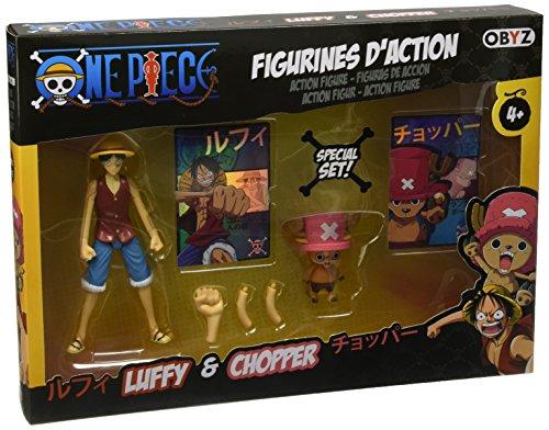 Obyz - Smifig018 - One Pièce - Pack De 2 Figurines - Luffy Et Chopper - 12 Cm