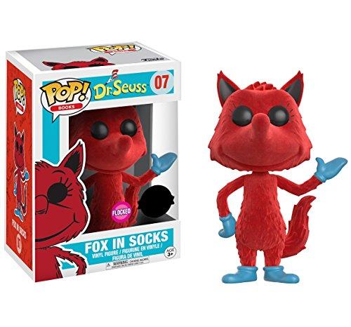 Figura Pop! Vinyl Dr Seuss Fox in Socks Flocked