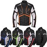 Motorcycle Jacket For Men Textile Motorbike Dualsport Enduro Motocross Racing Biker Riding CE