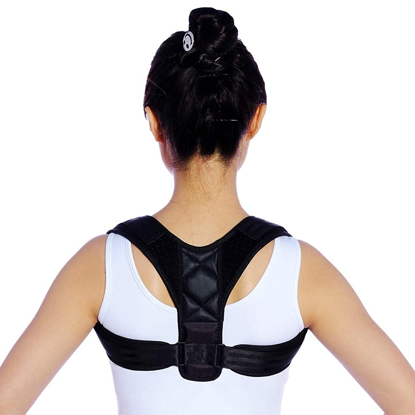 Back Posture Braces - for Anti-Humpback, Breathable Invisible Clavicle Fixation Strap