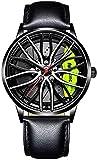 JinYuan Relojes para Hombre Relojes creativos,...