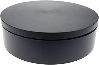 PrimeMatik   Elektro Drehfuß 20cm schwarz Drehplattform