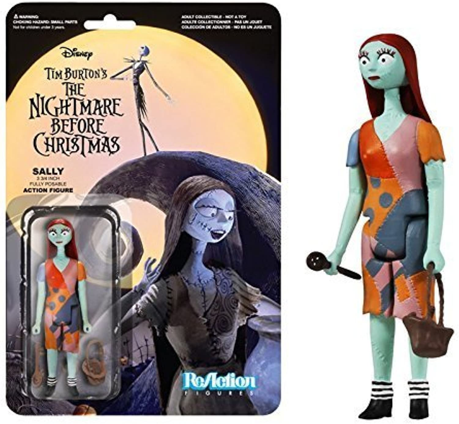 ReAction Nightmare Before Christmas Sally Figure by ReAction